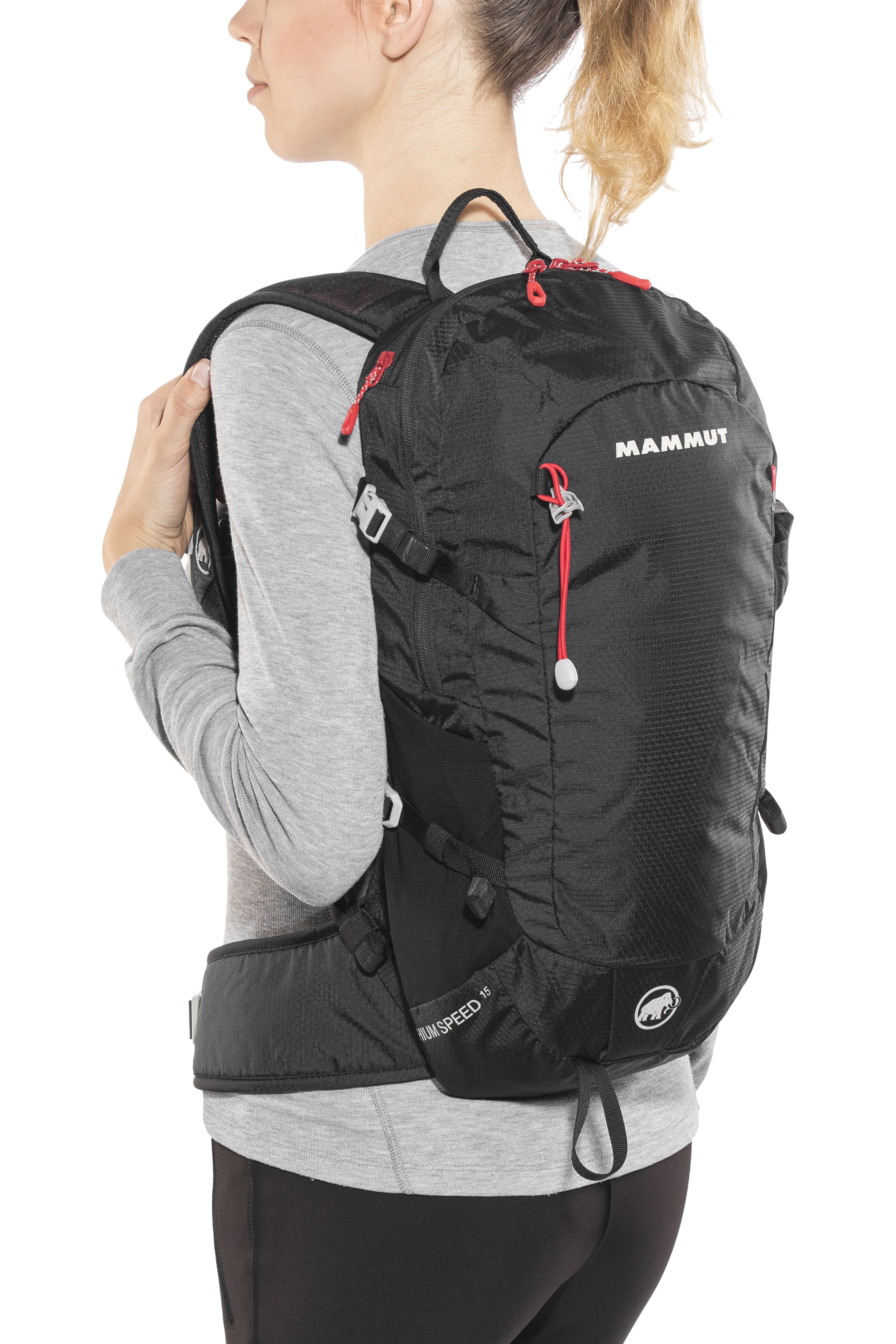 f01d115e25059 Mammut Lithium Speed Backpack 15l black at Addnature.co.uk